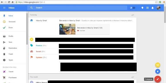 Google Inbox la soluzione mail veloce