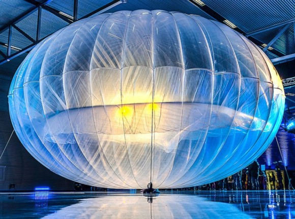 Google Loon – Fonte: Wikipedia CC BY 2.0