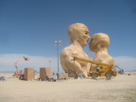 statua del Burning Man