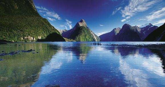 Parco Nazionale in Nuova Zelanda