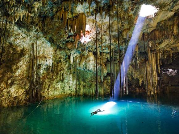 Piscina Naturale, Yucatan