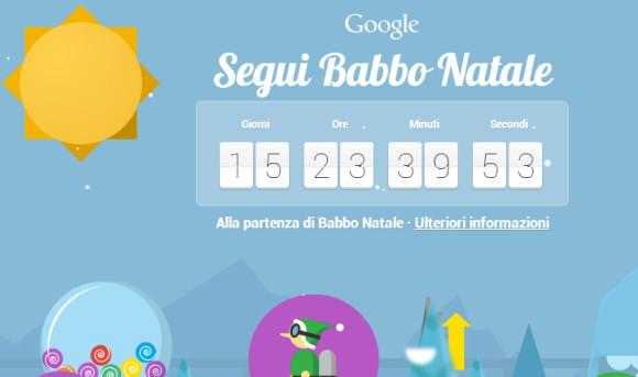 Ritorna anche quest'anno il Santa tracker di Google, per seguire Babbo Natale nei giorni delle feste (2)