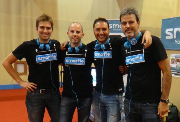 Il team di Smarfle.