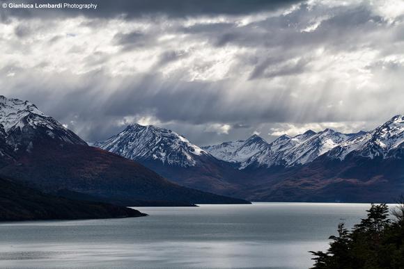 Il Lago Argentino nel Parque Nacional Los Glaciares (El Calafate, Santa Cruz, Patagonia Argentina)
