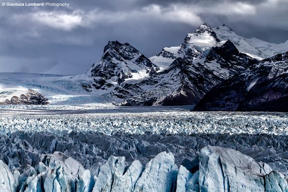 Glaciar Perito Moreno tra luci e ombre (Parque Nacional Los Glaciares, Santa Cruz, Patagonia Argentina)