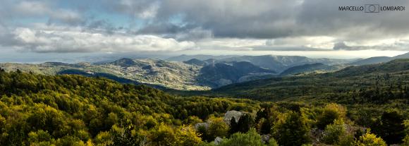 Panoramica del Parco Nazionale del Pollino - Foto di Marcello Lombardi
