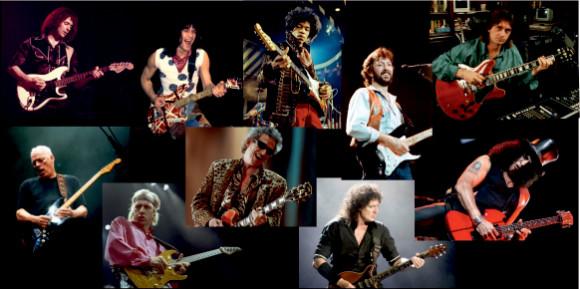 più grandi chitarristi rock - chitarristi famosi