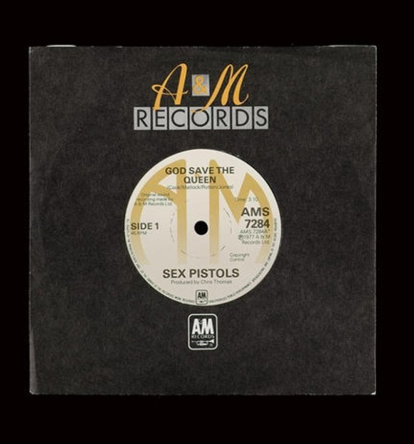 disco in vinile sex pistols god save the queen