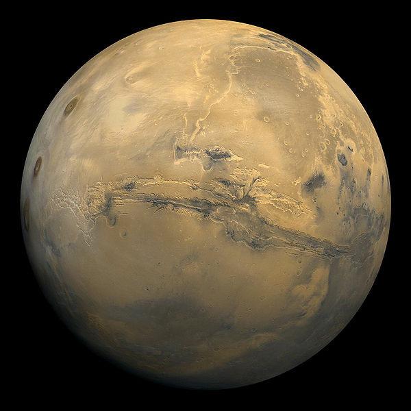 Marte ripreso da una delle sonde Viking