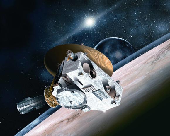 La sonda New Horizons Fonte: NASA/JHUAPL/SWRI