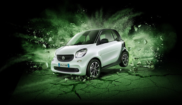 La nuova smart fortwo Black Passion,