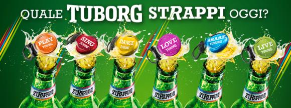 Basta poco per fare festa Tuborg e la campagna digital estiva