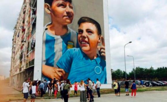 Ceres al fianco di Inward per la street art