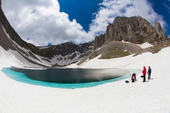 Spedizione di Greenpeace ai Laghi di Pilato (Parco Nazionale dei Monti Sibillini) - Immagine da Umbria24