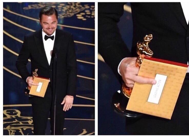 Oscar 2016 a Leonardo di Caprio