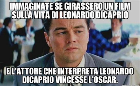 Leonardo Di Caprio vince l'Oscar