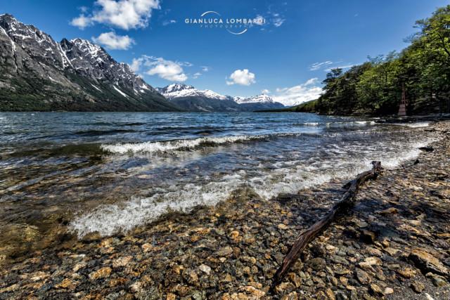 [29 Novembre 2015] Confine Argentina-Cile sulle sponde del Lago Roca, Parque Nacional Tierra del Fuego (Ushuaia, Argentina).