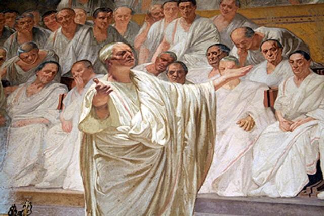 Lezioni di Cicerone ai politici di oggi