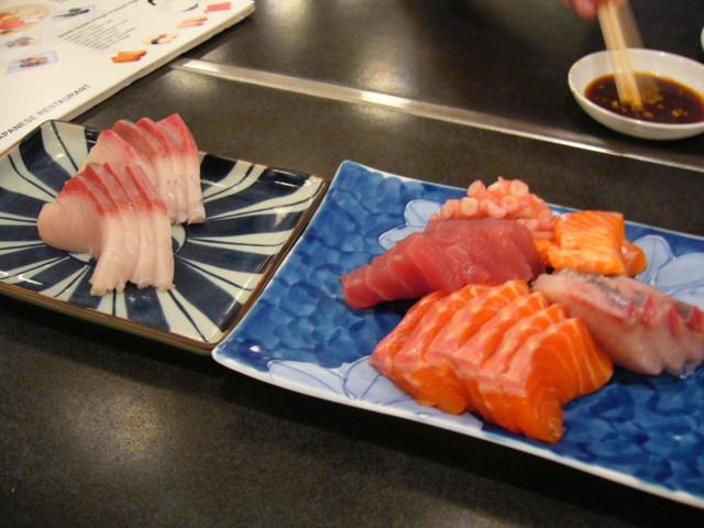 Ordinare al giapponese sashimi