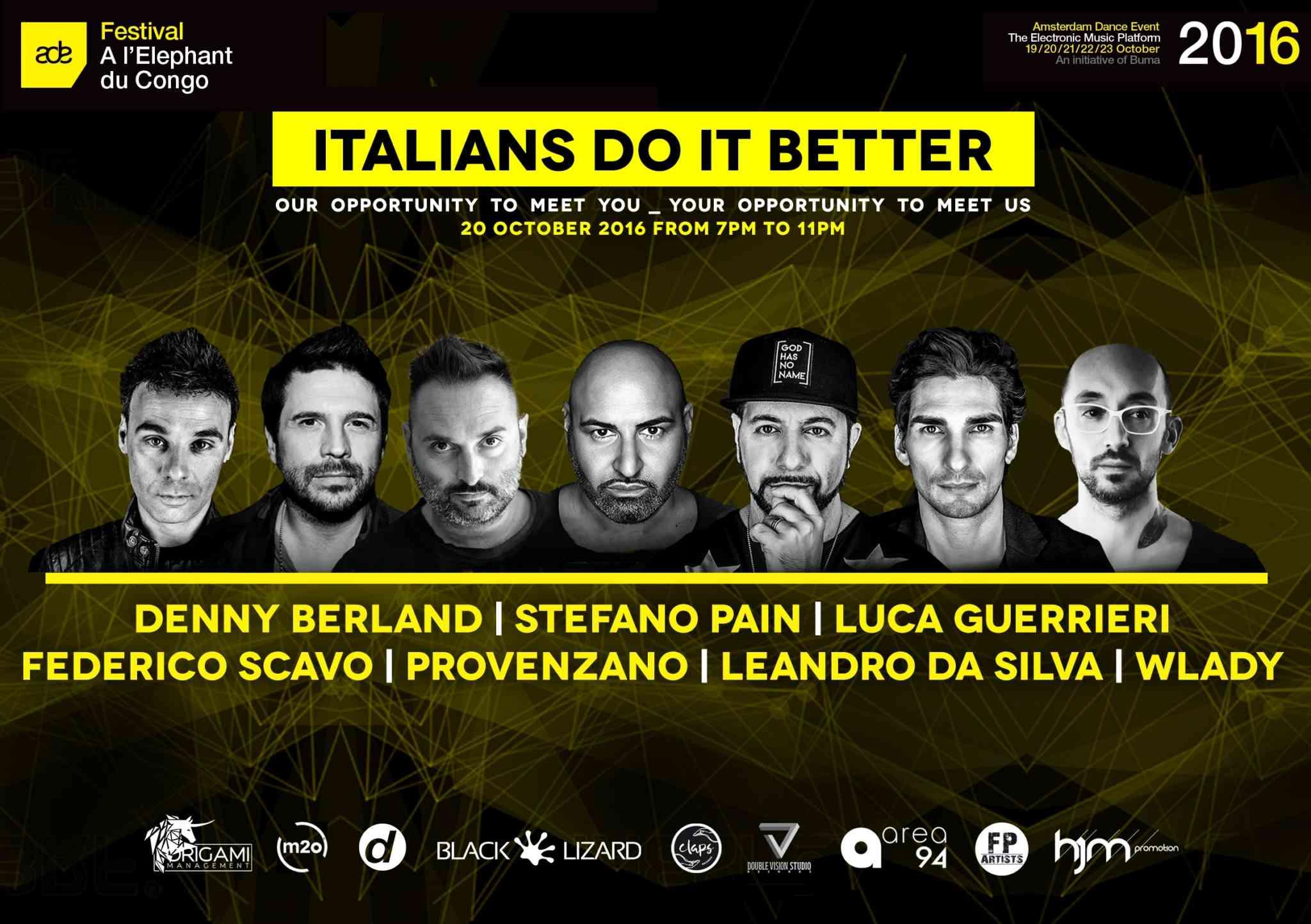Musica elettronica, ad Amsterdam con Italians do it better
