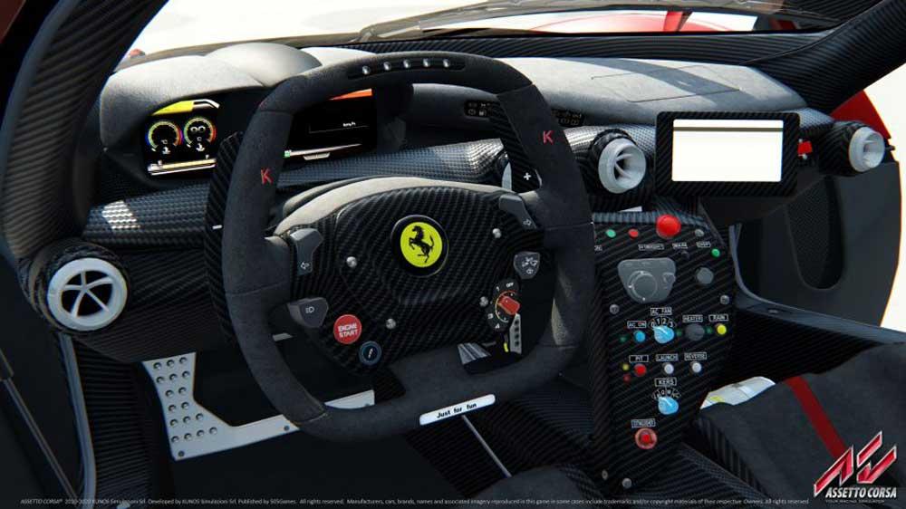 simulatore di guida assetto corsa