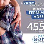 #Timeout: la campagna di WeWorld per le vittime collaterali della violenza sulle donne
