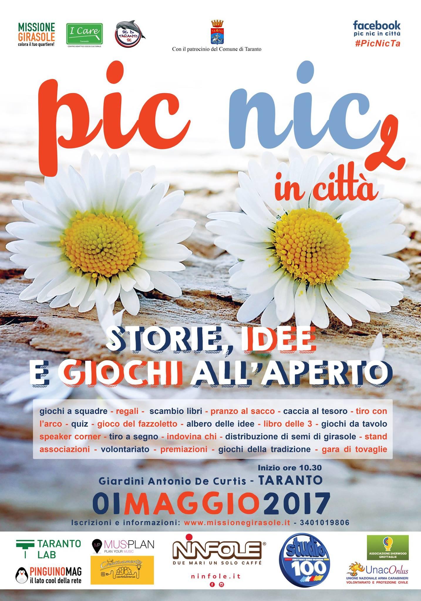 1 maggio Taranto Pic Nic in città