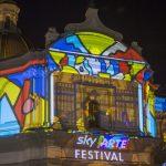 Il Videomapping di Souldesigner™ per lo Sky Arte Festival di Napoli