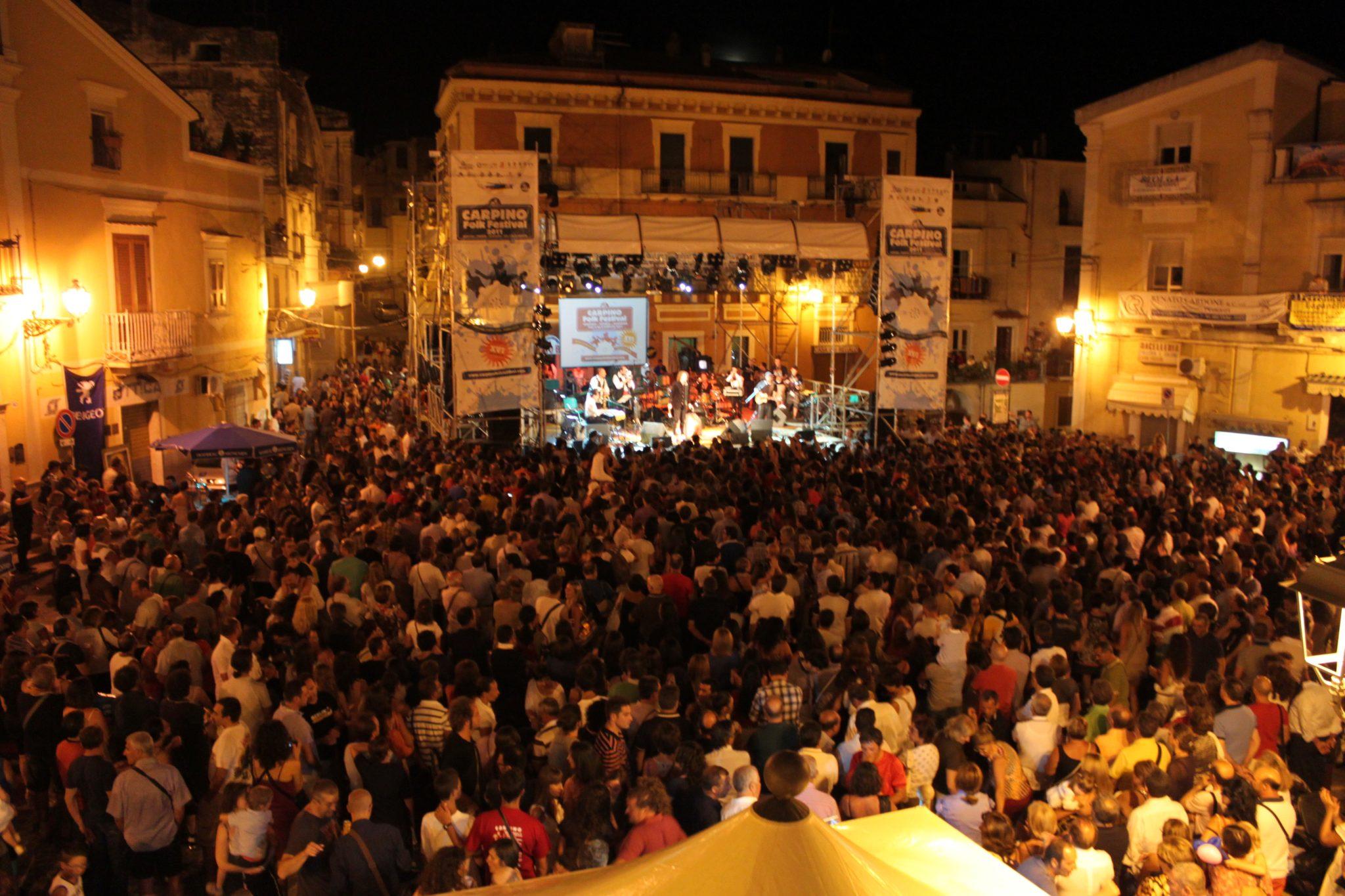 eventi estivi in puglia carpino folk festival