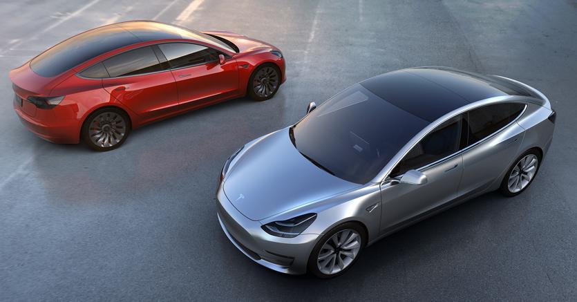 Novità Tesla Model 3