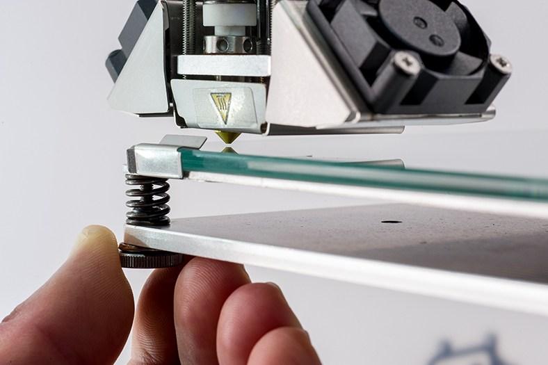 livellamento piatto stampante 3d cartesiana