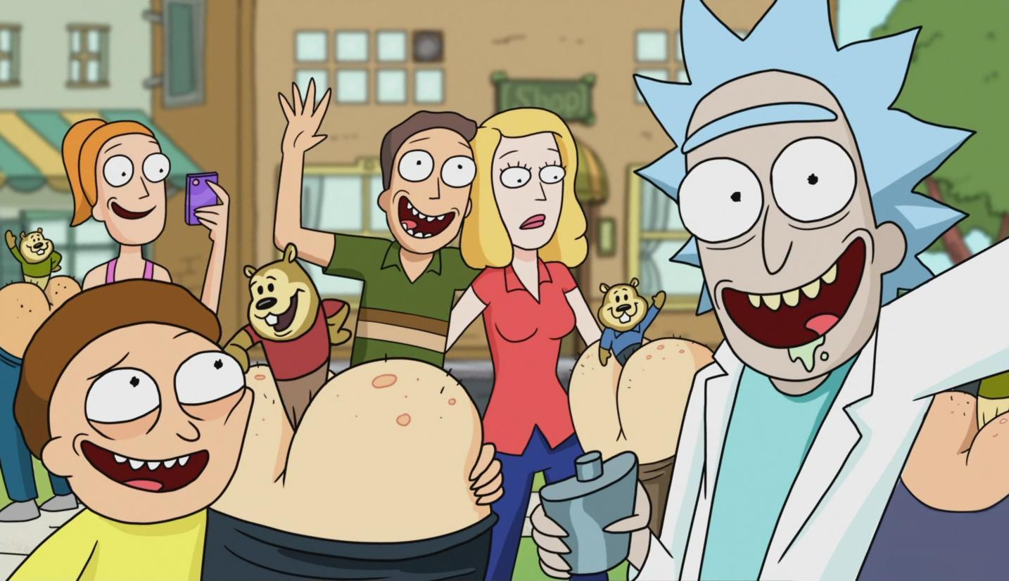 rick and morty serie tv