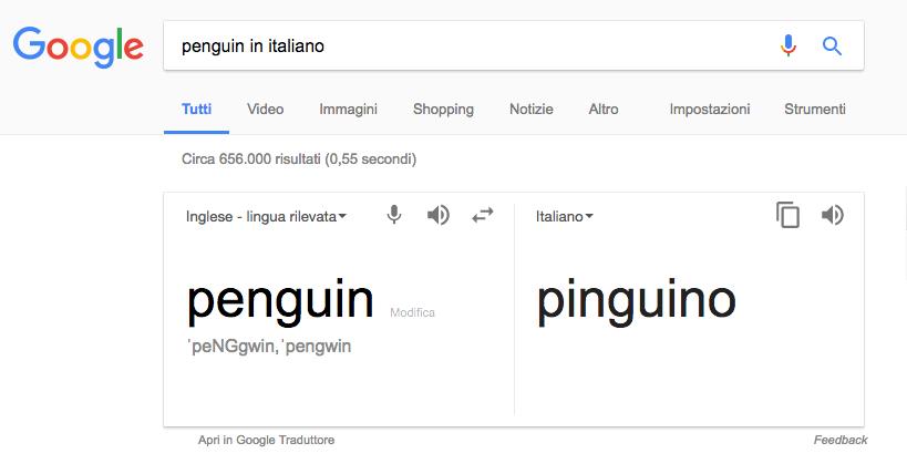 Ricerche su Google