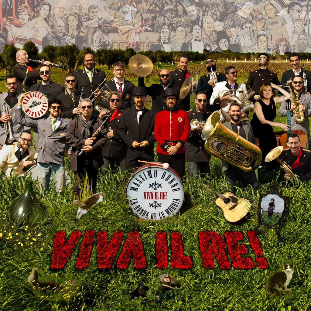 Massimo Donno - Viva il re! (copertina)