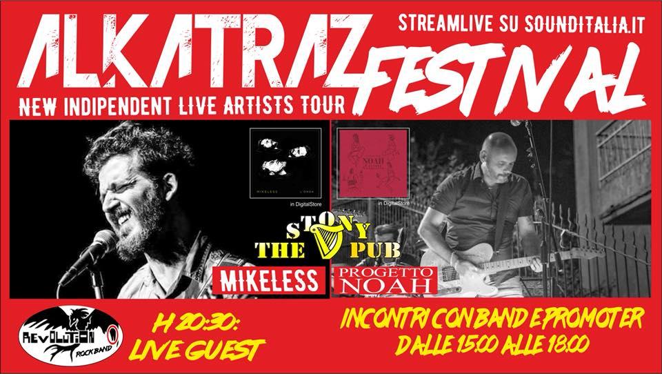 Riparte l'Alkatraz Festival, il 30 giugno la prima tappa