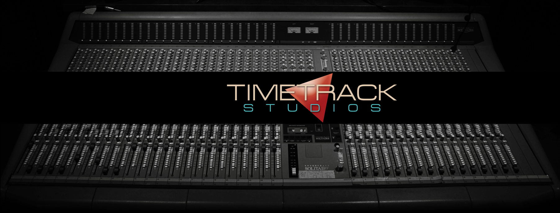 Foto dello studio di registrazione di Time Track Factory