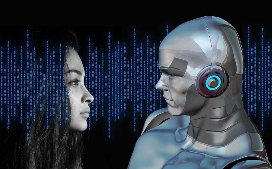 robot androidi