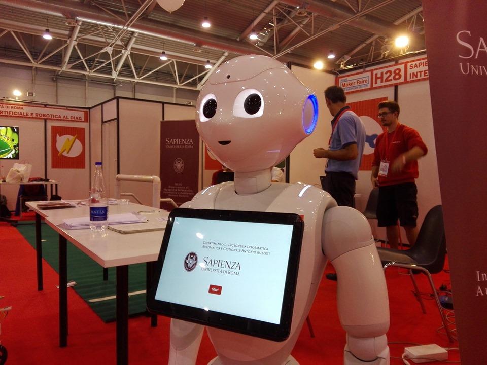 robot Maker Faire Rome