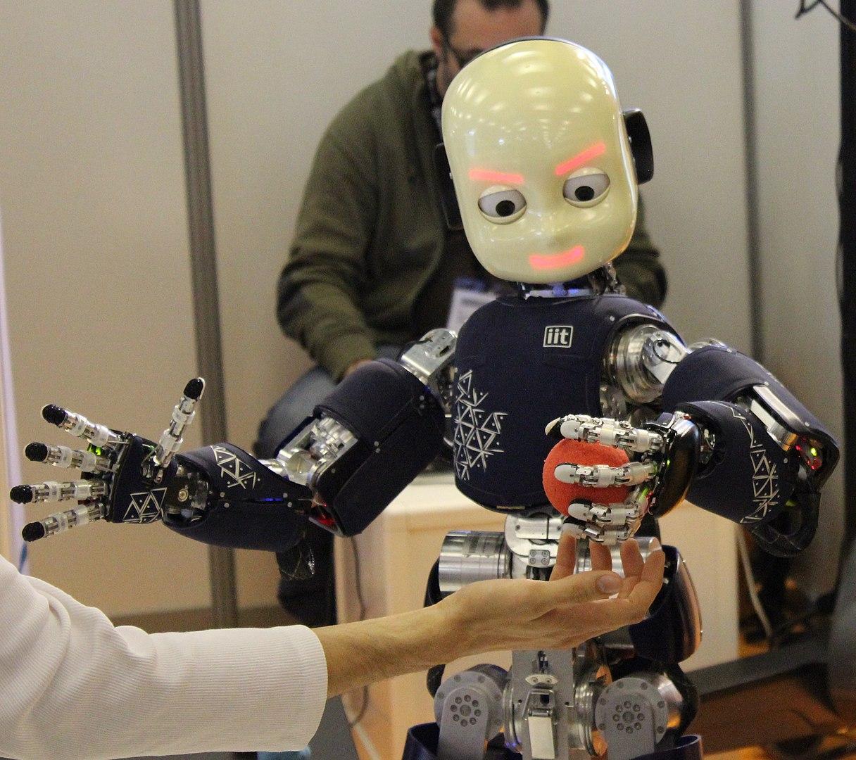 i robot al lavoro