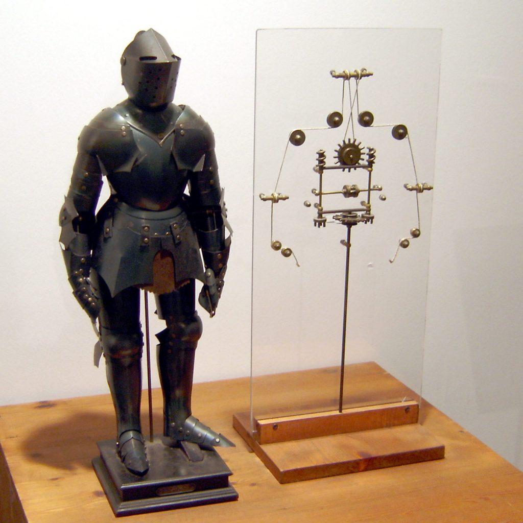 i robot lavoratori di Leonardo Da Vinci