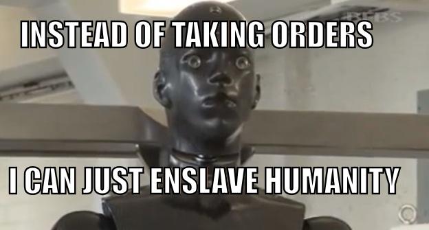 robot e meme