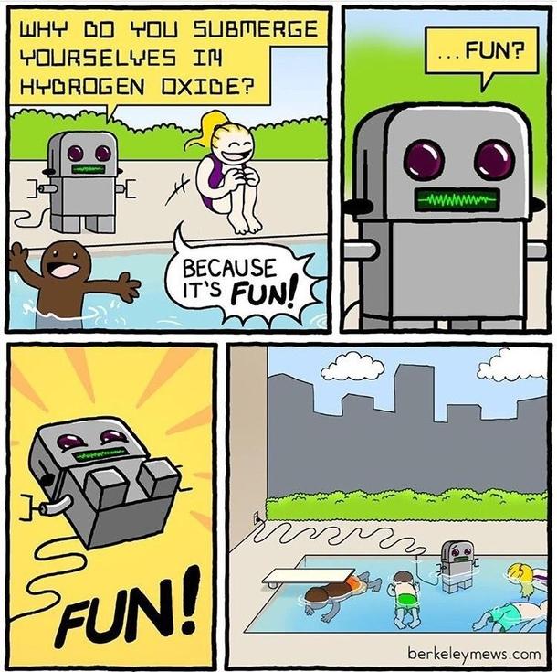 meme simpatici con i robot