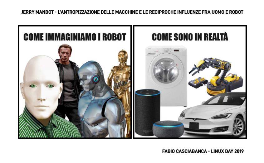 robot umanoidi e robot antropomorfi
