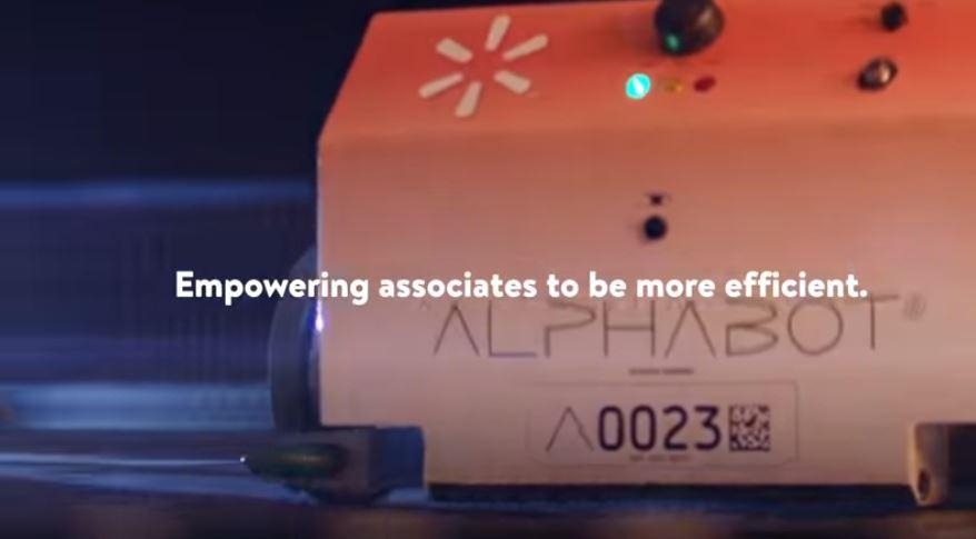 walmart alphabot robot