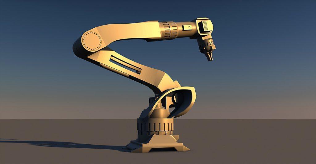 robot al lavoro - robotica