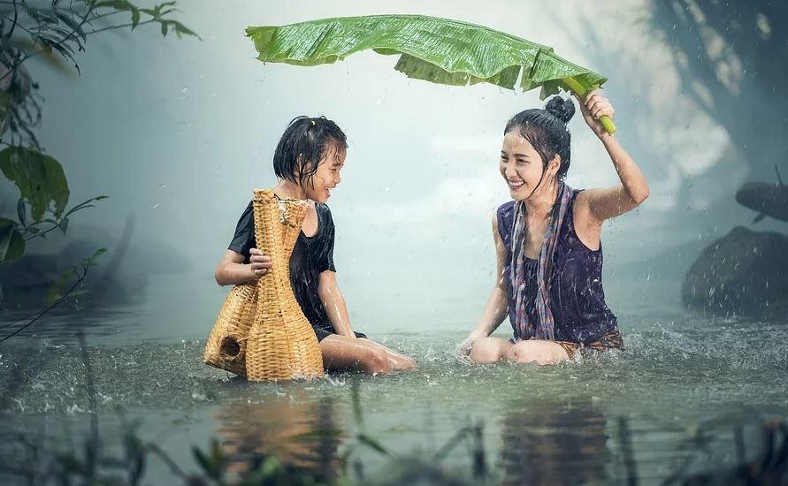 energia dalla pioggia