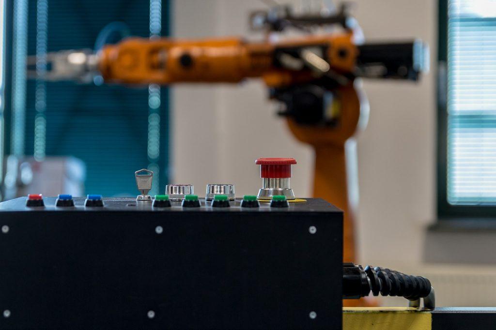 braccio robotico e robotica