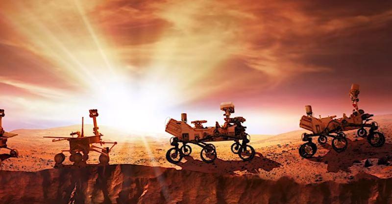 perseverance rover su marte della NASA