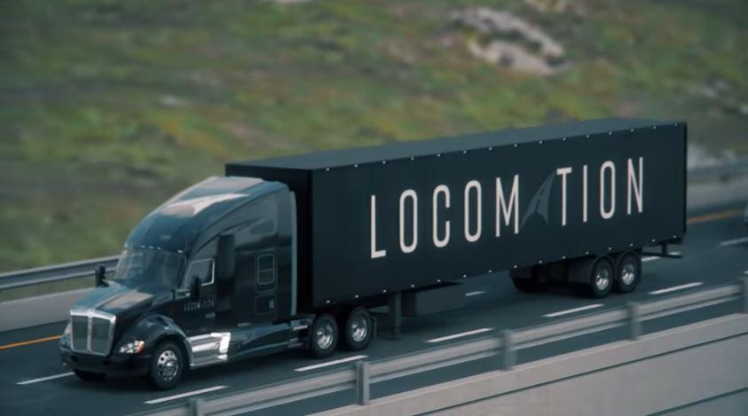 Locomation camion a guida autonoma