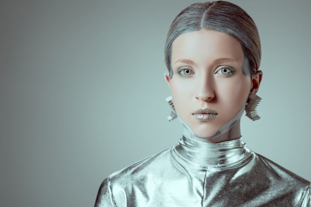 ragazza robot